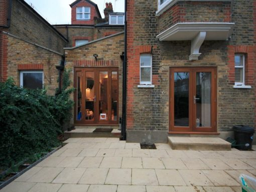 SMALL SIDE RETURN KITCHEN EXTENSION